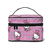 Hello Kitty Bolsa de almacenamiento para cosméticos, gran...