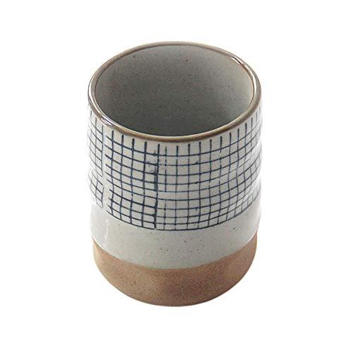 Baoblaze Taza de té Tradicional Japonesa Yunomi para té Suelto Taza de té de cerámica Pintada a Mano artística - Estilo C
