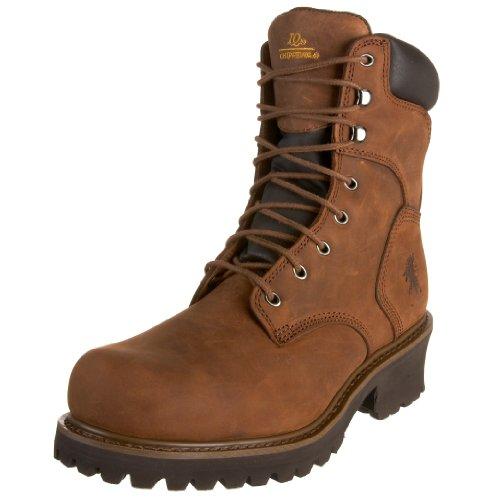 Chippewa Men's 55025 8' Steel Logger Boot,Bark Logger,11 XW...