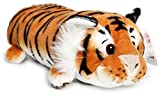 Terrence The Sleepy Tiger - 16 Inch Large Plush Pillow - Soft and Fluffy Cushion Stuffed Animal Pet - by Tiger Tale Toys