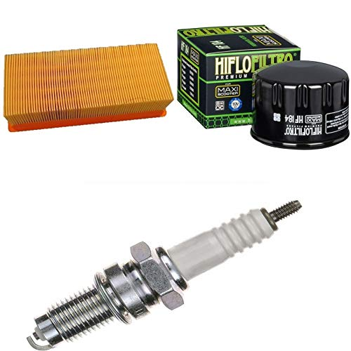 Filtro de aire, filtro de aceite, bujía, para X9 500 i.e. Evolution año de construcción 2004 – 2005, kit de mantenimiento