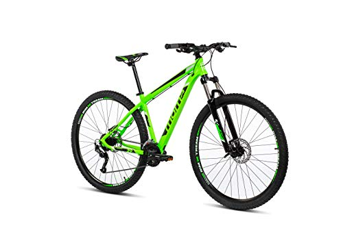 Moma Bikes Mtb29 Peak XL Bicicleta de Montaña, Frenos de Disco hidraulicos, 27V, Unisex Adulto, Verde