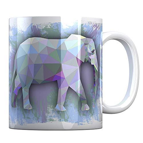 Tassenbude Kaffee Tasse mit Elefant Design für Tierliebhaber Geschenk-Idee
