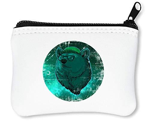 Math Class   Nerd   Clever Animal   Cool T Shirt   Popular Style   Super   Yolo Swag Reißverschluss-Geldbörse Brieftasche Geldbörse