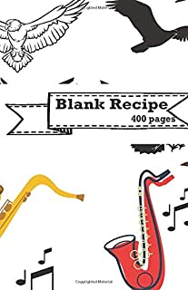 Blank Recipe: Record everything you cook in here