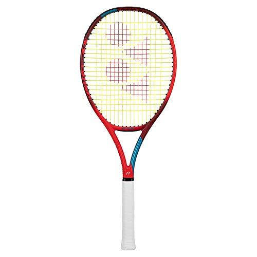 "Yonex VCORE 100 LITE 6th Gen Performance Tennis Racquet, Tango Red (4 1/4"" Grip Size)"