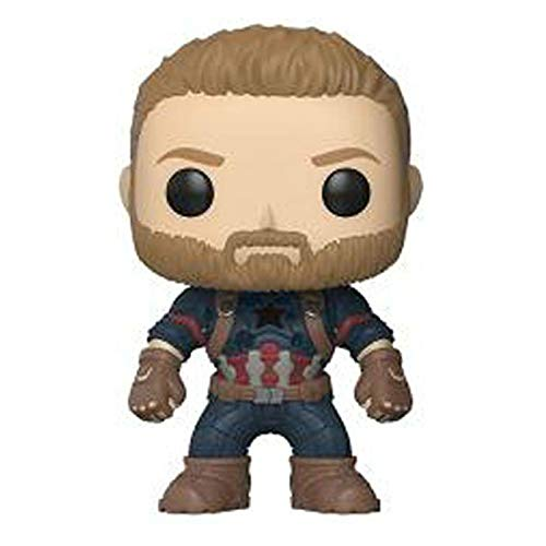 B123 Action & Toy Figures - Marvel Avengers 3 Infinity War Thanos Captain America Iron Man Action Figure Thor Toy Spiderman Black Panther PVC Model Dolls - by 1 PCs