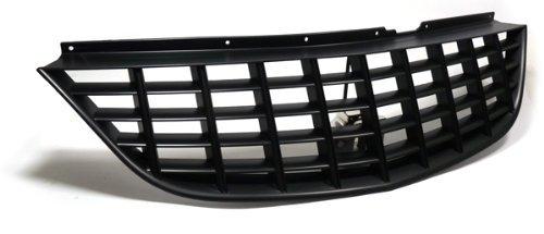 Carparts-Online 14201 Grill Sport Kühlergrill ohne Emblem schwarz