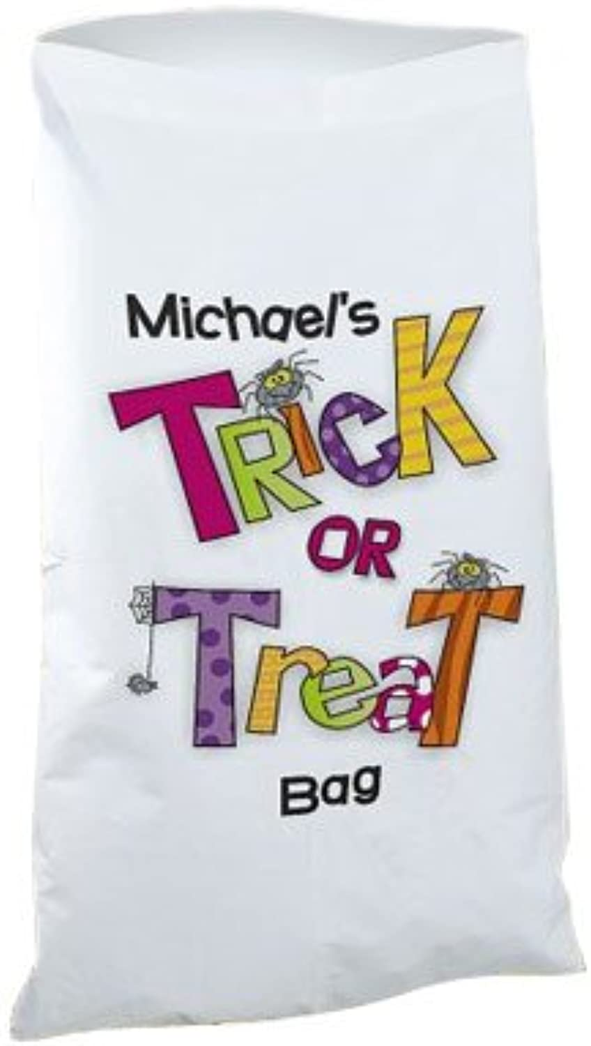 Trick or Treat Halloween Sack, 20  x 32  with a 3  hem and 180TC