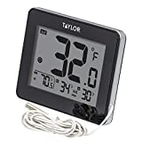TAYLOR TAP1710, Indoor/Outdoor Thermometer with Wired Probe