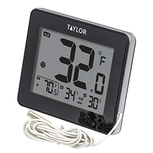 Taylor Wired Digital Indoor/Outdoor Thermometer