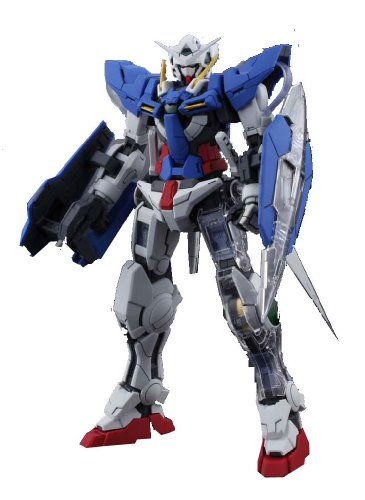 Gundam GN-001 Gundam Exia with Extra Clear Body parts MG 1/100 Scale