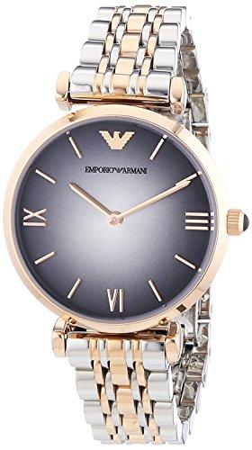 Emporio Armani Damen-Armbanduhr XS Analog Quarz Edelstahl AR1725