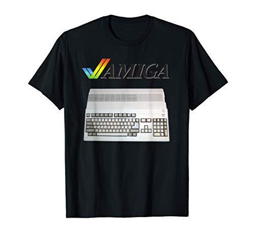Vintage Retro Computer Amiga 80er Jahre Nerd T-Shirt