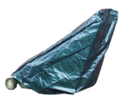 Videx 22120 PE- Schutzhaube für Handrasenmäher, grün
