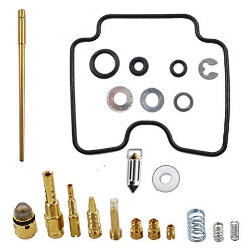 Carb Carburetor Repair Rebuild Kit Fits for Kawasaki Kfx 400 LTZ400 HDM 221 2003 2004 2005 2006
