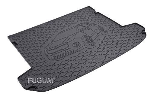 RIGUM Passgenaue Kofferraumwanne geeignet für KIA Sportage ab 2016 + Autoschoner MONTEUR