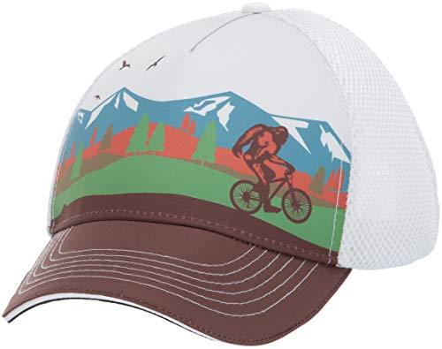 Headsweats 7755-401SBFBIKE Soft Tech Trucker 5-Panel Sweat Band, Bigfoot Bike, One Size