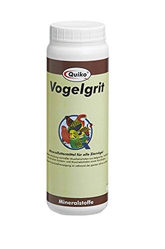 Quiko Vogelgrit - Mineralfuttermittel für alle Ziervögel (1 x 1.2 kg)
