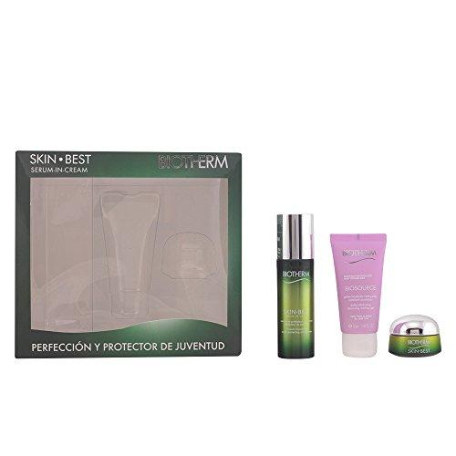 Biotherm Skin Best Serum-In-Cream Geschenkset (Serum-Creme 50ml, Reinigungsgel 50ml + Tagescreme 15 ml)