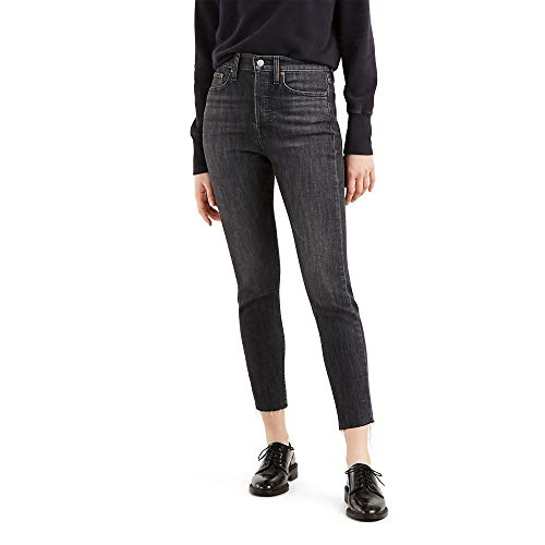 Levi's Women's Wedgie Skinny Jeans, Ravens Wing, 25 (US 0)