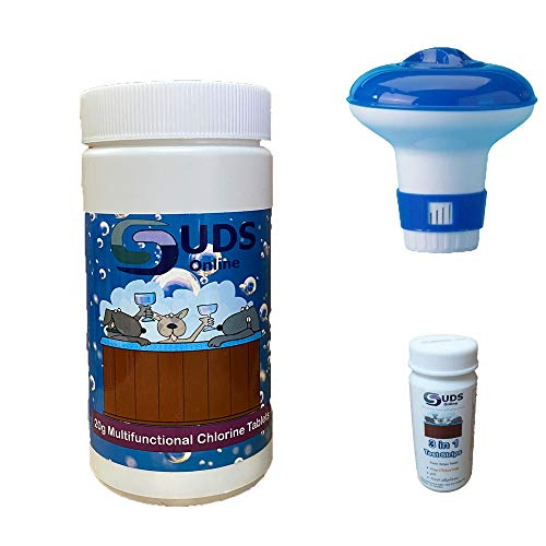 SUDS-ONLINE 3 in 1 Test Strips And Floating Dispenser With 1 kg...