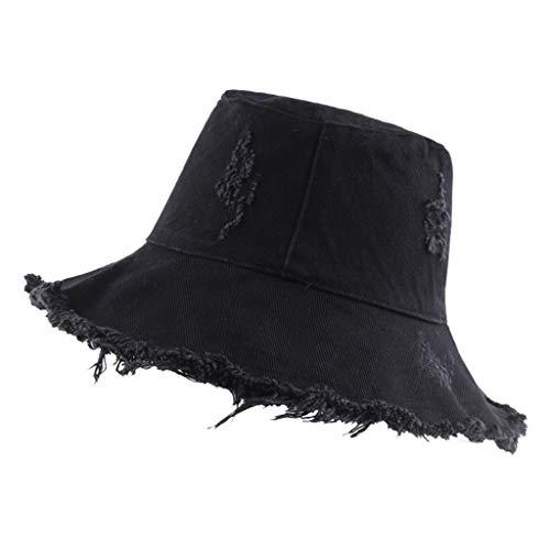 DOLDOA Hut Damen Sommer,Sonnenhut mit UV-Schutz UV-Strahlen Packbare und stilvolle Sommerhüte mit breiter Krempe (MehrfarbigB)