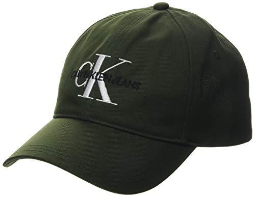 Calvin Klein Jeans Herren Ckj Monogram Baseball Cap, Mehrfarbig (Deep Depths Lb), One Size (Herstellergröße: OS)