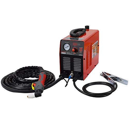QWERTOUY Plasmaschneider Cut45i 220V Arcsonic HeroCut Air Plasmaschneidemaschine 10mm sauberes Schneidvideo