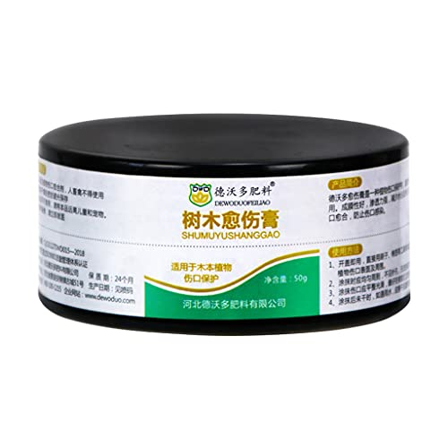 leyeruk Bonsai Pruning Cutting Paste 50 G Wound Paste and Grafting Sealant Bonsai Tool Kit for Garden Plant Grafting for Quick Recovery
