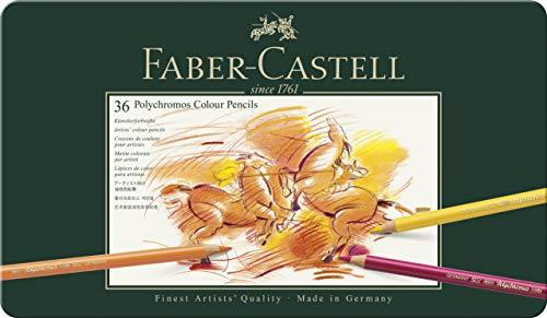 Faber-Castell 110036 Matite Colorate, 36 Pezzi