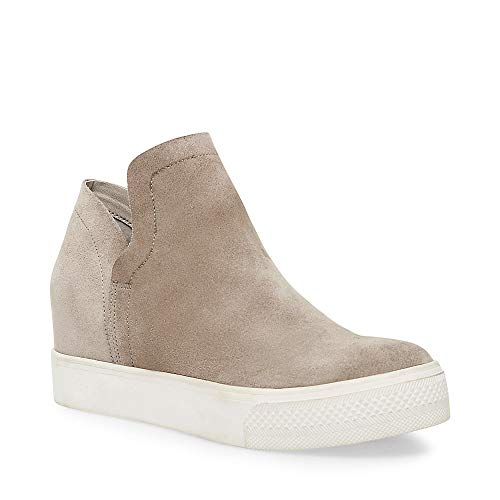Price comparison product image Steve Madden Women's Wrangle Sneaker,  Taupe Suede,  8.5 M US