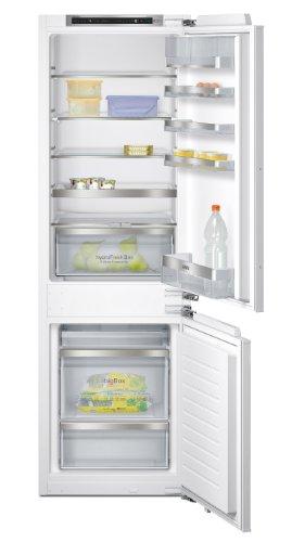 Réfrigérateur encastrable Siemens KI86SAD30 - Réfrigérateur congélateur encastrable - 268 litres - Réfrigerateur/congel : Froid brassé / Froid brassé - Dégivrage automatique - Classe A++ / Intégrable
