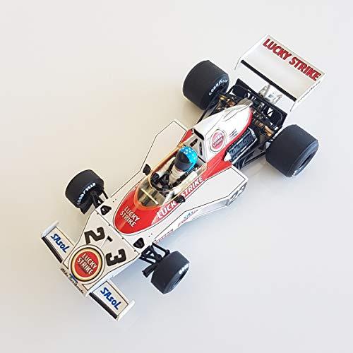 SRC- McLaren Ford M23 GP Dave Charlton South Africa 1974, meerkleurig (02302)