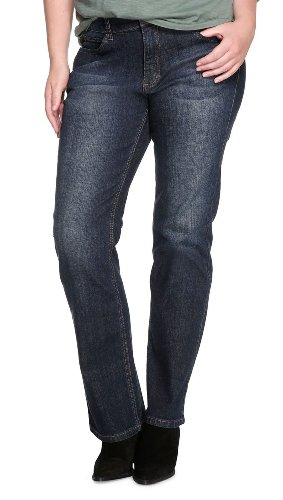 TRIANGLE - s.Oliver Damen Jeans Normaler Bund 19.899.71.1849, Gr. 54/34, Blau (57Z7)