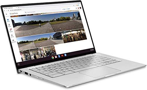 Product Image 8: ASUS Chromebook Flip C434 2-In-1 Laptop- 14″ Full HD 4-Way NanoEdge Touchscreen, Intel Core M3-8100Y Processor, 8GB RAM, 64GB eMMC Storage, Backlit KB, Chrome OS- C434TA-DS384T Silver