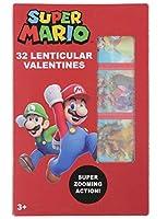 スーパーマリオ レンチキュラーバレンタインカード 32枚