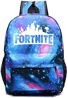 Custom fashion fortnite game night luminous backpack, school daypack backpack youth campus shoulder bag