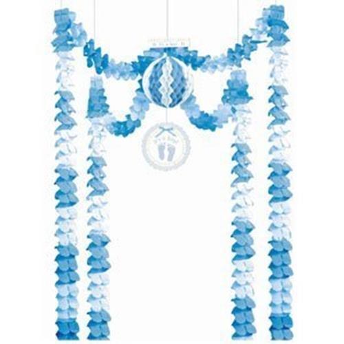Amscan International bébé doux Bleu tout-en-un Décoration de fête