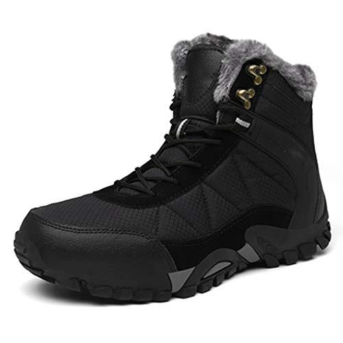 LMZX winterlaarzen voor heren en schoenen, katoen, voor buiten, waterdicht, antislip, velours, cross-country, warme laarzen, sportschoenen, reizen