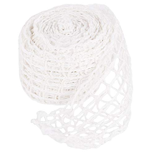 Cabilock Cotton Meat Poultry Ham Netting Roll Spiced Pork Shoulder Net Bag for Meat Cooking (5m, White)