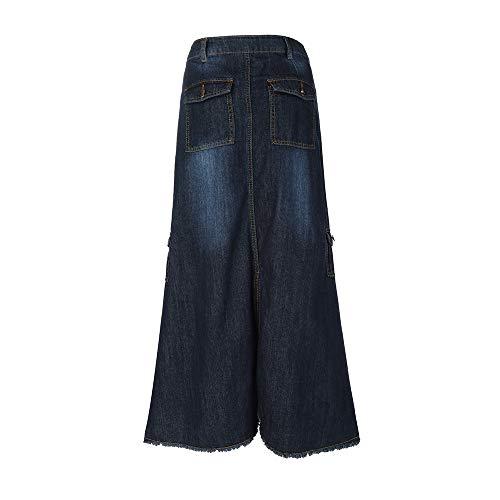 Vectry Faldas Azul Oscuro Maxi Falda Faldas Cortas Mujer Verano Falda Tul Mujer Falda Vaquera Niña Faldas Tutu Faldas Largas Verano Faldas Vuelo