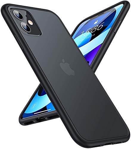 TORRAS Shockproof Compatible for iPhone 11 Case, [6FT Military Grade Drop Protection] Translucent...