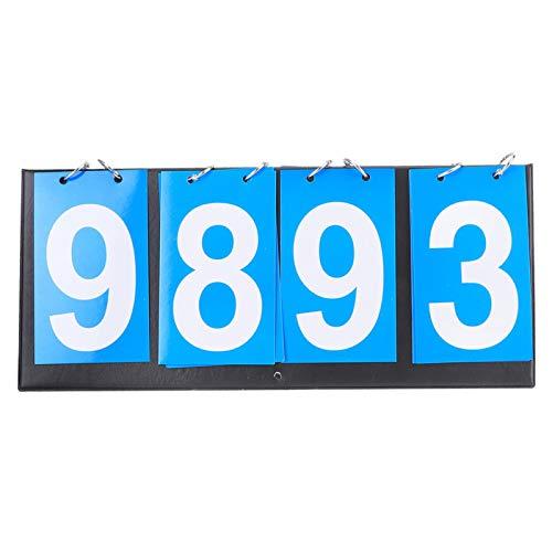 Omabeta 4-stellige Punkteanzeige, tragbar, stabil für Basketball.