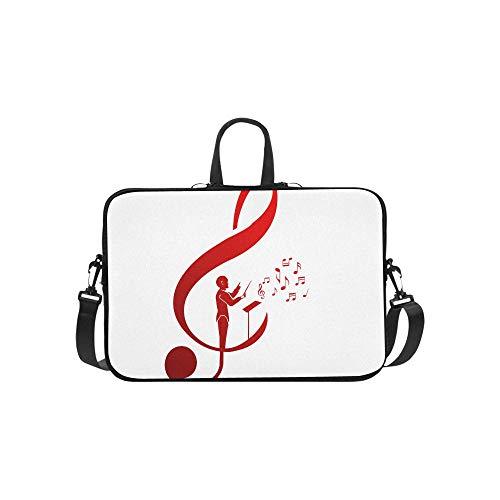 Laptop Bag Cute Chorus Commander Shoulder Bag Crossbody Bag Light-Weight for Men Women Students Boy Business Travelling Classes University
