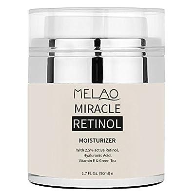 MELAO Retinol Moisturizer Face Cream Anti-aging Face Eye Area Vitamin E Face Whitening Cream