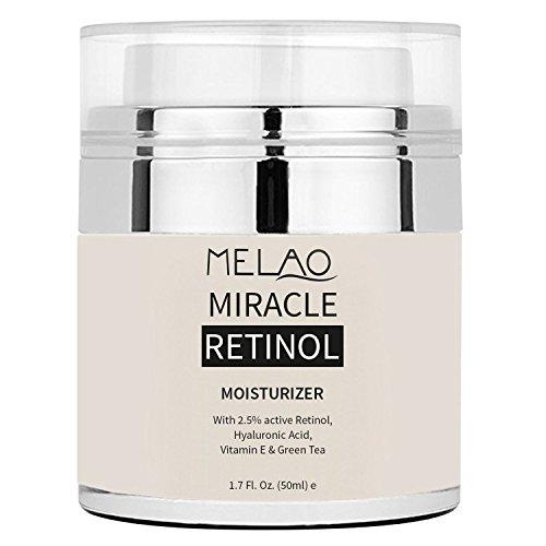 Cikuso MELAO Retinol Moisturizer Gesichtscreme Anti-Aging Gesicht Augenbereich Vitamin E Gesicht Whitening Cream