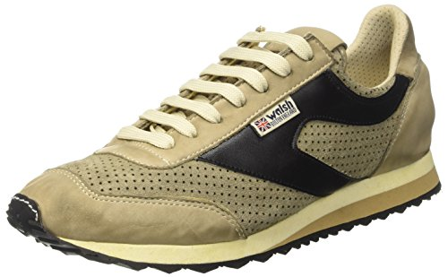 Walsh Deluxe, Zapatillas de Baloncesto para Hombre, Beige (Platan Suede Platan Suede), 45 EU