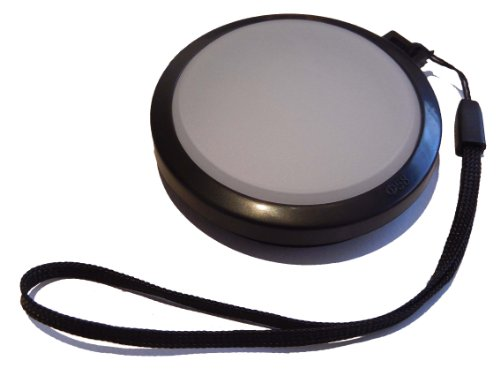 vhbw Tapa Objetivo de Balance de Blancos de 62mm para Sony 18-250 mm 3.5-6.3 DT. 70-300 mm 4.5-5.6 G SSM, DT 16-105 mm 3.5-5.6.