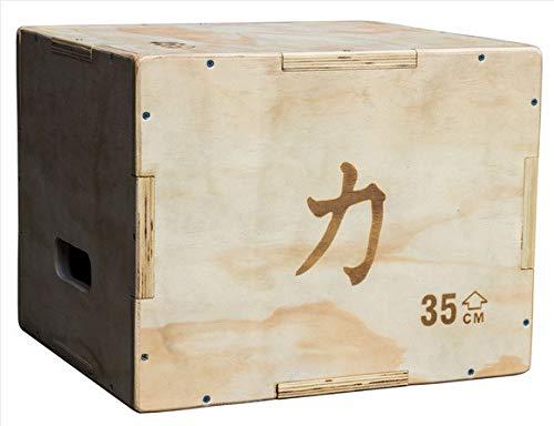 Pequeña caja plyo de madera,45cm x 40cm x 35cm